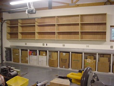Diy Garage Cabinets To Make Your Garage Look Cooler In
