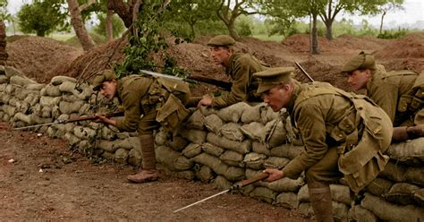 world war 1 in color world war one in colour mirror