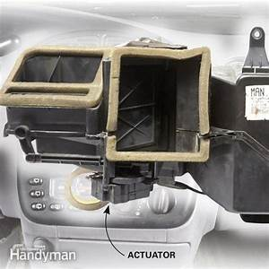 Car Heater Blowing Cold Air  Check The Actuator