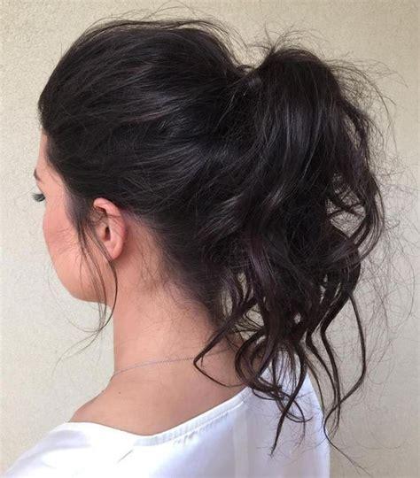 cute  easy hairstyles  medium length hair part