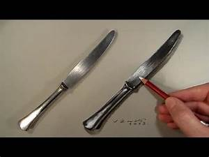 Realism Challenge #4 Drawing a Knife, Time Lapse - YouTube