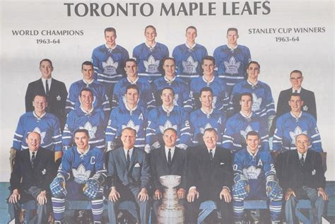 Toronto Maple Leafs Team Pictures To Pin On Pinterest