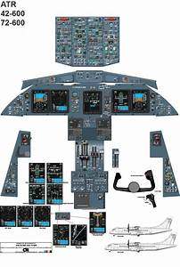 This Is A Cockpit Diagram Of The Atr 42    72