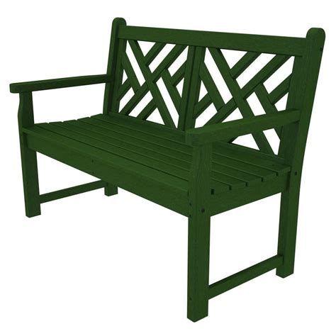 vifah marley 2 seater patio bench v208e the home depot