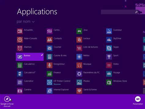 icone bureau windows 8 windows 8 1 ajouter des vignettes dans l 39 écran d 39 accueil