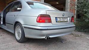 Bmw 520i E39 : bmw 520i e39 custom straight piped exhaust youtube ~ Medecine-chirurgie-esthetiques.com Avis de Voitures