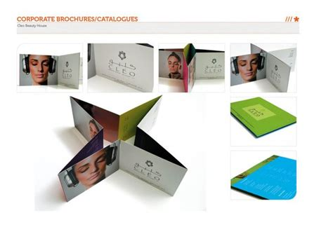 unique business brochure designs