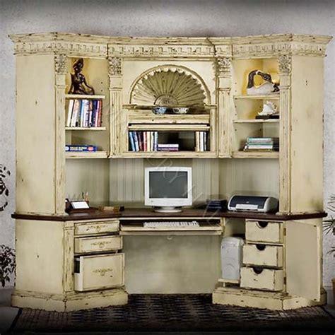 french country corner computer desk antique corner desk center farmhouse corner hutch