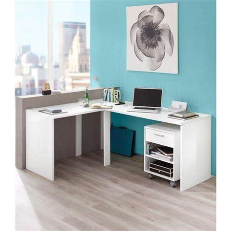 bureau blanc d angle 1000 idées sur le thème bureau angle sur