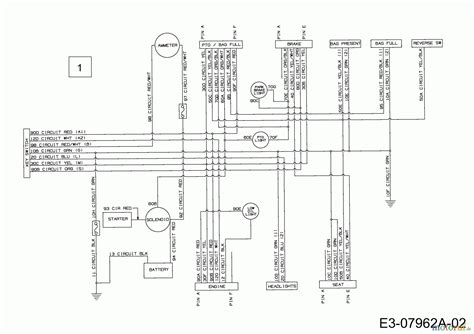 2002 Mtd Wiring Diagram by Mtd Lawn Tractors Se 160 At 13a7508e678 2002 Wiring
