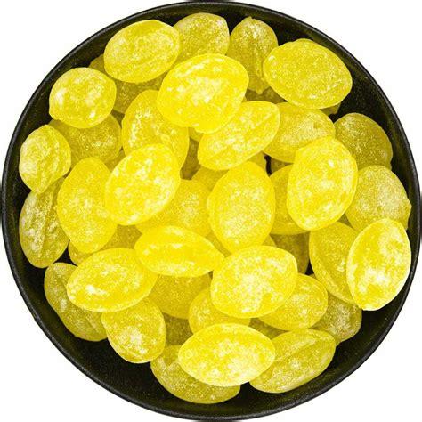 Natural Lemon Drops • Candy Crave