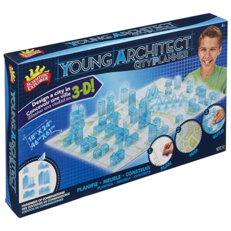 young architect  city planner design build kit