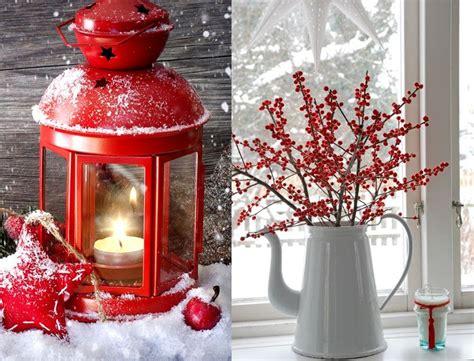 Decoration De Noel Rouge Et Blanc