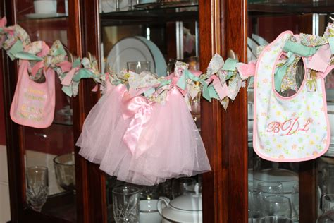 Green And Pink Baby Shower Cakes