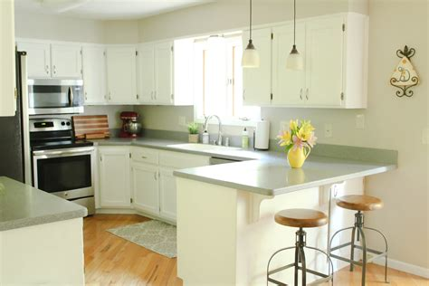 painted oak kitchen cabinets chalk painted kitchen cabinets from honey oak to white 3997