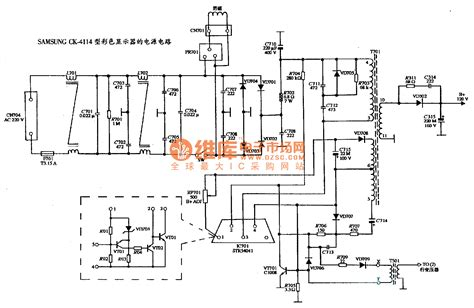 dc power supply circuits wiring diagram components