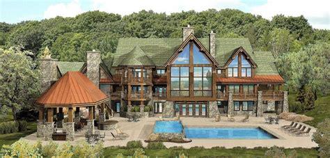 luxury log cabin home floor plans luxury mountain log homes log lodges floor plans treesranchcom