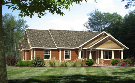 craftsman ranch style modular homes craftsman home plans  open concept craftsman style