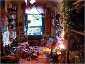Decor : Hippie-decorating-ideas-modern-living-room-with ...