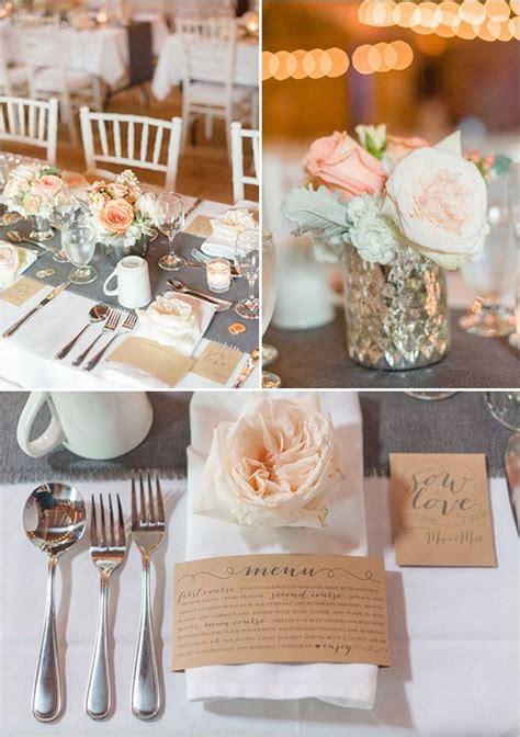 pretty  peach wedding wedding decorations wedding