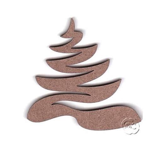 silueta de árbol de navidad silueta madera para scrap arbol de navidad