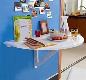Table Pliable Murale : sobuy fwt10 w table murale rabattable en bois table de cuisine pliabl ~ Preciouscoupons.com Idées de Décoration