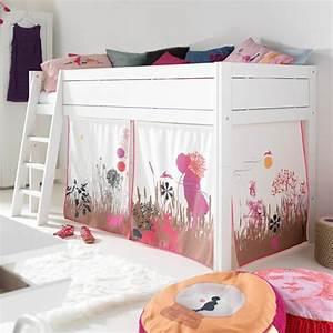 Cabane Chambre Enfant : le lit cabane fille id es en images ~ Teatrodelosmanantiales.com Idées de Décoration
