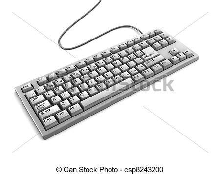 keyboard clipart drawn pencil   color keyboard