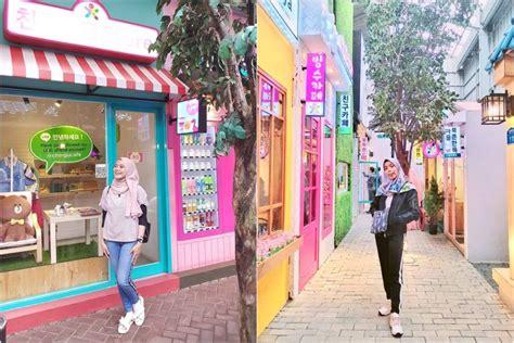 tempat wisata mirip lokasi syuting drama korea  indonesia