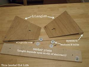 Diy your own stair tread gauge how to cut stair treads for Stair tread template tool