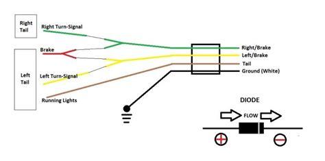 2010 toyota trailer flat 4 wiring harness diagram search trailer pinterest