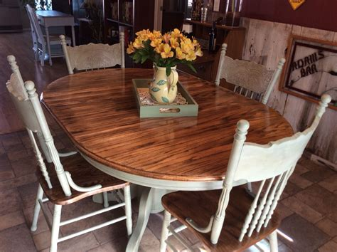 light oak kitchen table and chairs i rescued and restored this beautiful solid oak table and