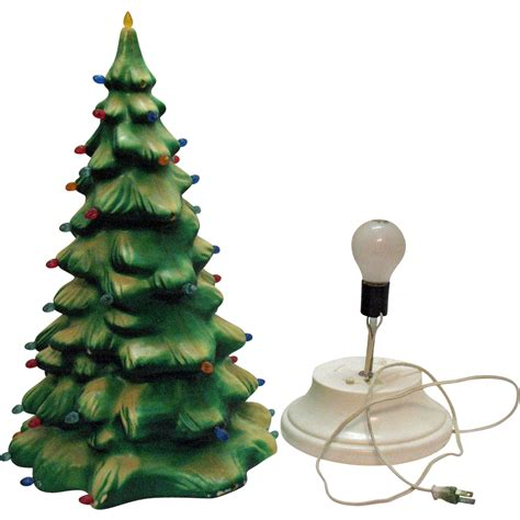 light up christmas l post vintage celluloid light up christmas tree plastic inserts