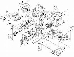 Powermatic 3hp 3ph Motor 230  460v Dust Collector