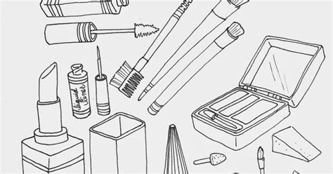 Coloring With Makeup by The Spinsterhood Diaries Wednesday Makeup Coloring Page