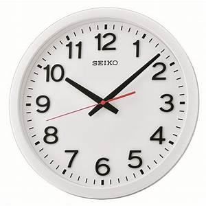 Horloge Murale Silencieuse : horloge murale blanc mat avec trotteuse silencieuse ~ Melissatoandfro.com Idées de Décoration