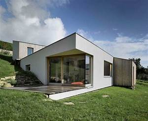 Delightful Minimalist Home in France: The Snail House ...