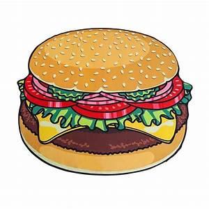 Serviette De Plage Xxl : serviette de plage xxl hamburger cadeau maestro ~ Teatrodelosmanantiales.com Idées de Décoration