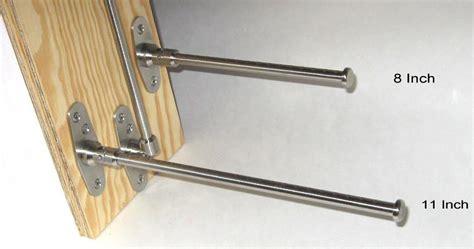 folding clothes hanger rod fast fold rod