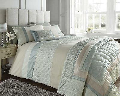luxury durban mint green cream polycotton super king size