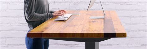 bamboo table and chairs height adjustable standing desk uplift desk
