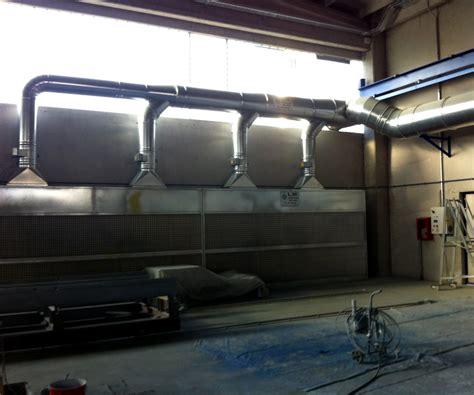 cabine verniciatura a secco cabine verniciatura a secco per aspirazione polveri