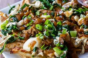 Green Vegan Poutine | Ceara's Kitchen