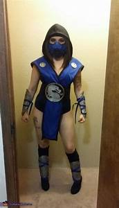 Mortal Kombat Sub Zero Costume for Women