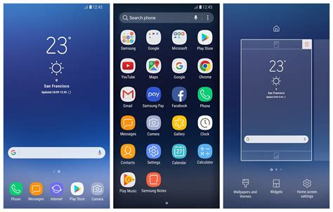 samsung launchers for android samsung releases galaxy s8 launcher to the play