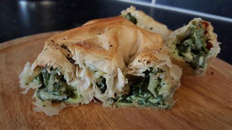 Spinach and Cheese Byrek | Byrek me Djathë dhe Spinaq | My ...