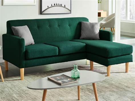 desodoriser un canapé en tissu canapé d 39 angle scandinave en tissu vert auma
