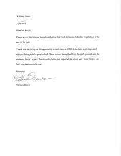 simple resignation letter 1 month notice as sample letter of resignation form…   resignation