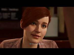 Mary Jane and Peter Parker KISS Scene Spider-Man PS4 - YouTube