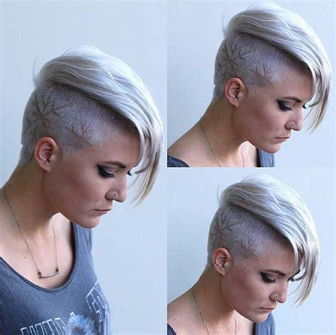 undercut hairstyles  hair tattoos  women